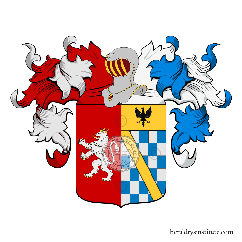 Coat of Arms of family Canonici Mattei
