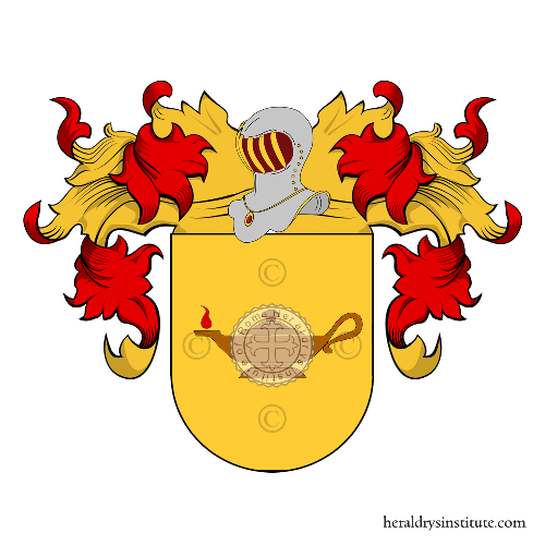 Coat of Arms of family Cascòn