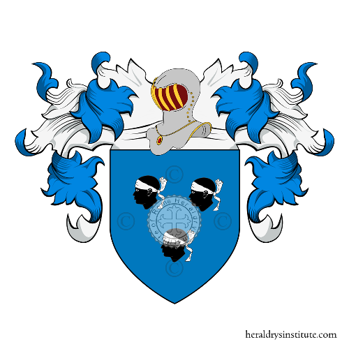 Coat of Arms of family Moretti (Firenze)