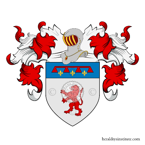 Coat of Arms of family Donzelli