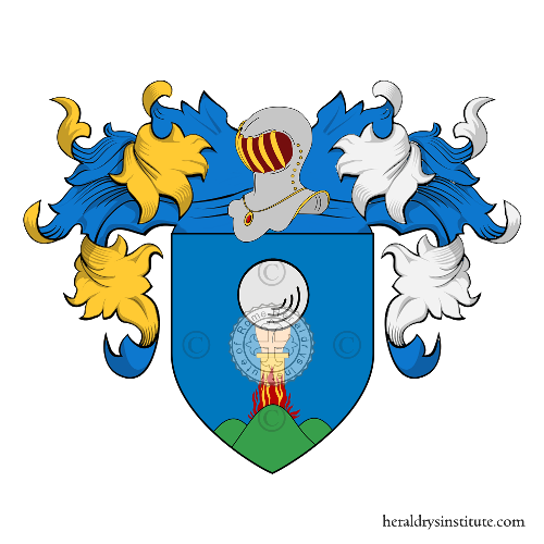 Coat of Arms of family Franchini (Verona)