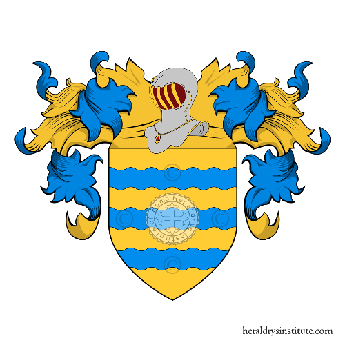 Coat of Arms of family Franchini (Bologna)