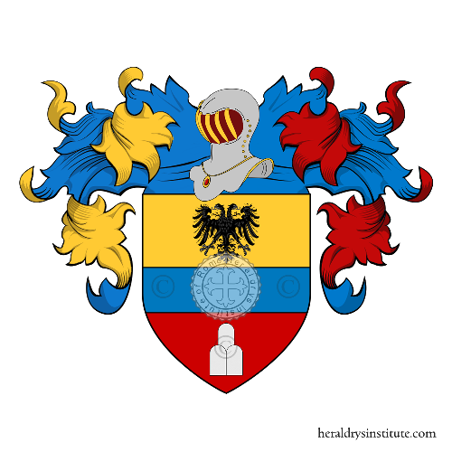 Coat of Arms of family Franchini (Padova)