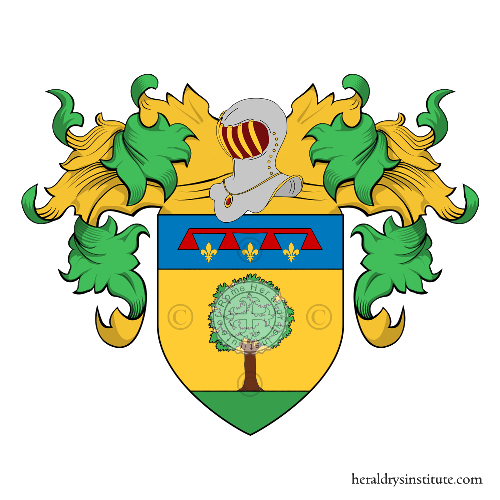 Coat of Arms of family Franchini (Firenze)