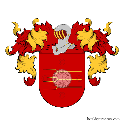 Coat of Arms of family Areas o Áreas