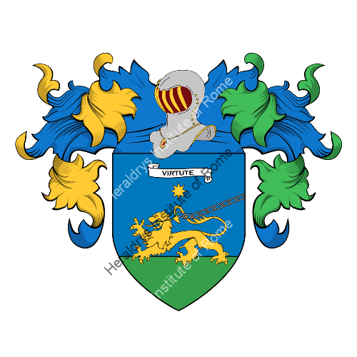 Coat of Arms of family Tardella or Bardella