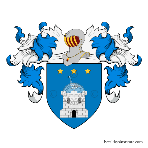 Coat of arms of family Colloca