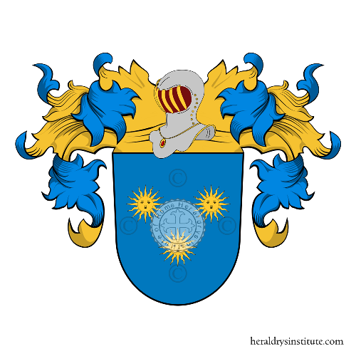 Coat of Arms of family Fragoso