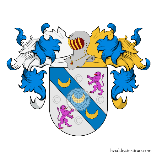 Coat of arms of family Barbosa