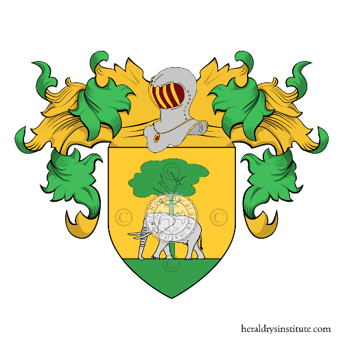 Coat of Arms of family Cendra