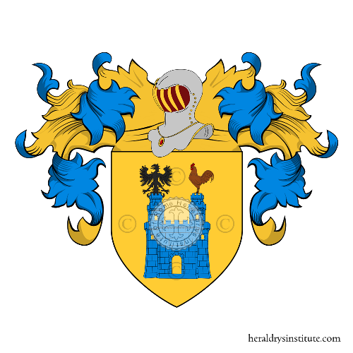 Coat of Arms of family Fumagalli (Milano)