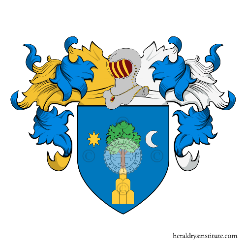 Coat of Arms of family Moni