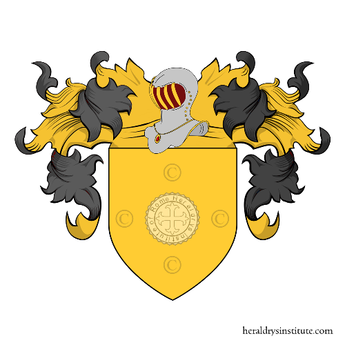 Coat of Arms of family Bandinelli (Siena, Roma)