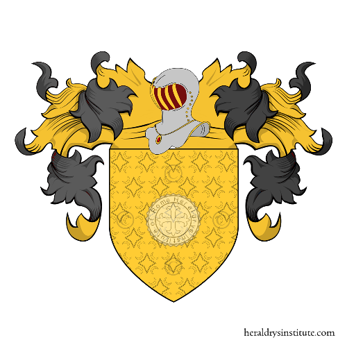 Coat of Arms of family Bandinelli (Toscana)