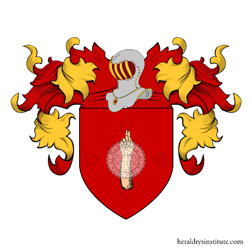 Coat of Arms of family Bandinelli (Trento)