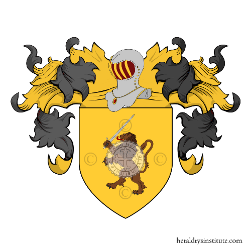 Coat of Arms of family Cacio