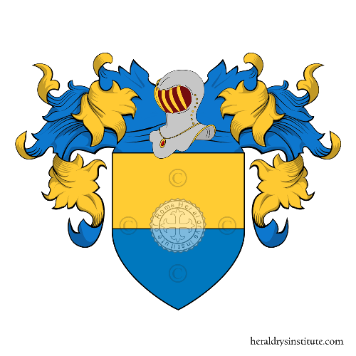 Coat of arms of family Justi