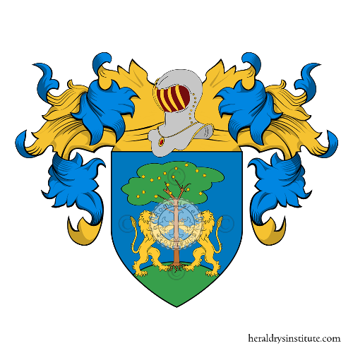 Coat of Arms of family Franceschi (de) (Roma)