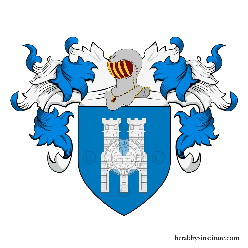 Coat of Arms of family Ponte (de) (Napoli)