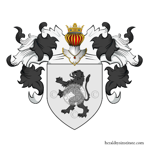 Coat of Arms of family Silva (de) (Palermo)