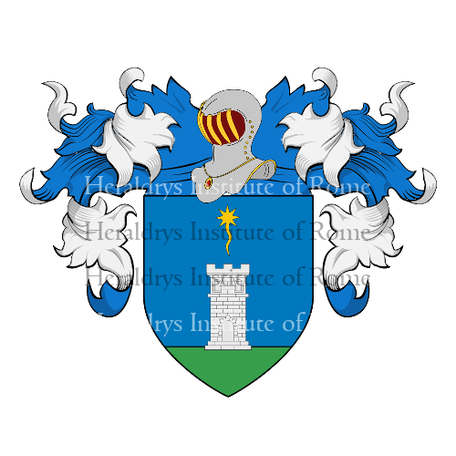 Coat of Arms of family Carletti (Roma)