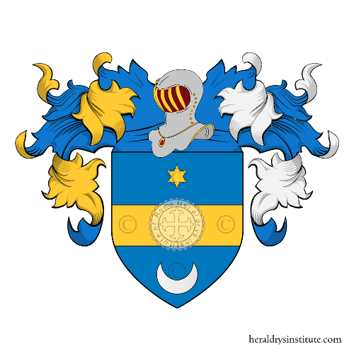 Coat of Arms of family Carletti o Carletto (Montepulciano)