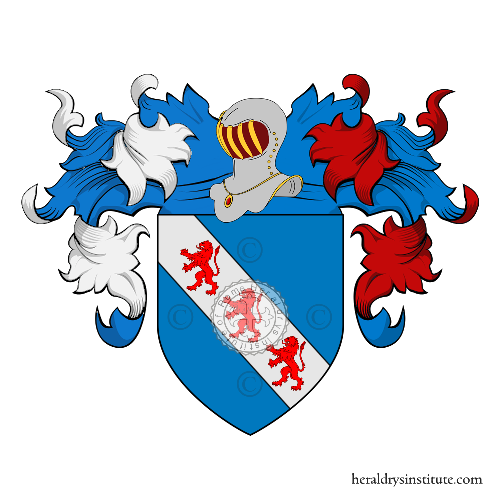 Coat of Arms of family Franceschi (de) (Pisa)