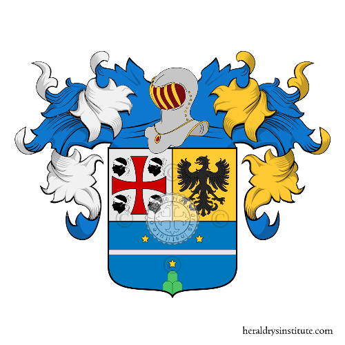 Coat of Arms of family Ronchi (Ferrara)