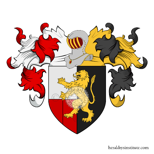 Coat of Arms of family Ronchi, Ronca o Ronch (da) (Verona)