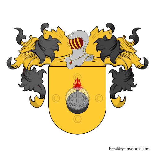 Coat of Arms of family Casillo