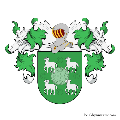 Coat of Arms of family Cordeiro