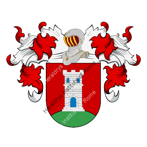 Coat of Arms of family Pena