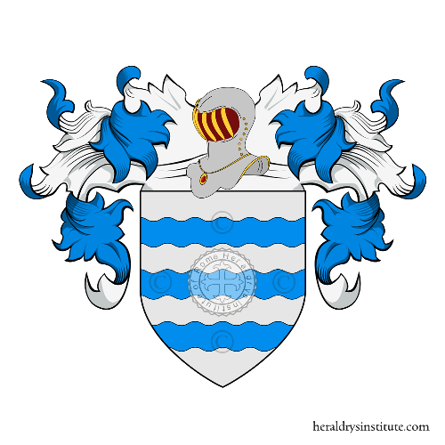 Coat of Arms of family Samudio