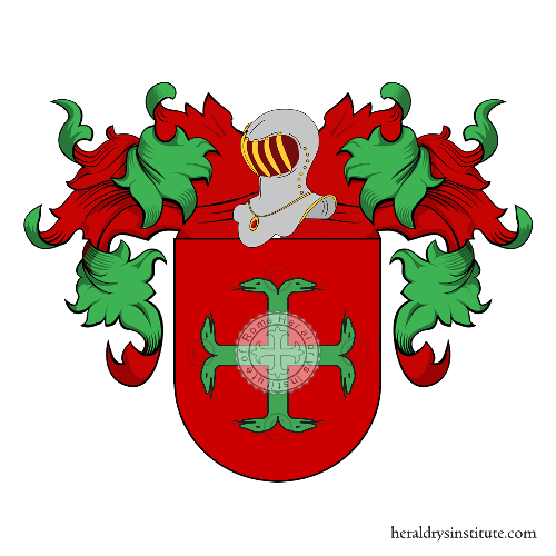 Coat of arms of family Gonzàles de Colosia