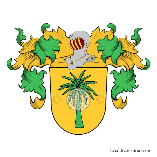 Coat of Arms of family Palma, Lapalma