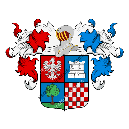 Coat of Arms of family Alessi (Piemonte)