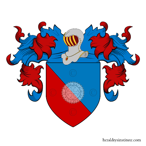 Coat of Arms of family Alessi (Arquà)