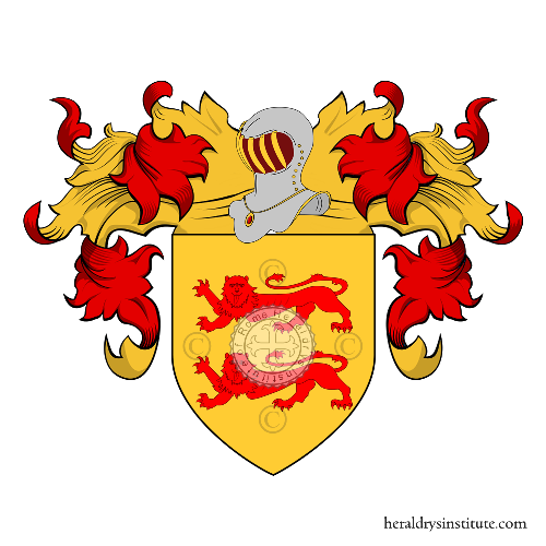 Coat of Arms of family Cusatri