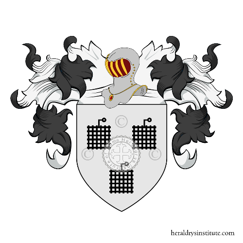 Coat of Arms of family Aubier ou Obier (Bretagne)