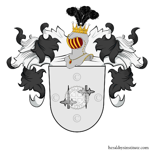 Coat of Arms of family Korsack