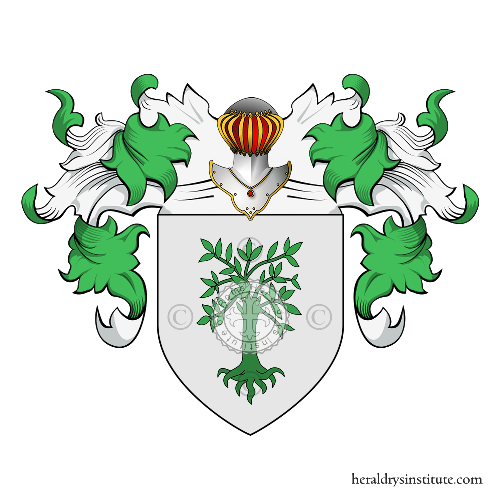 Coat of Arms of family Onorati o Onorato (Roma)