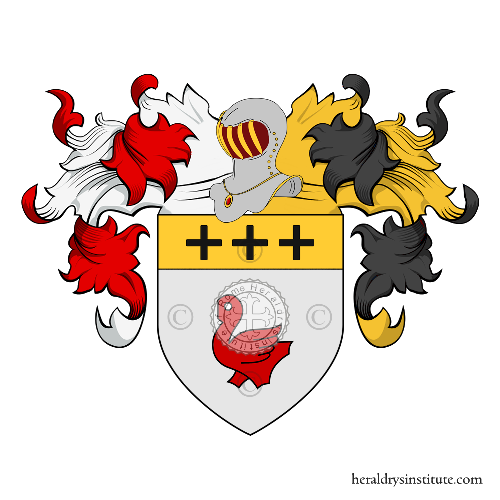Coat of Arms of family Caci o Cacé