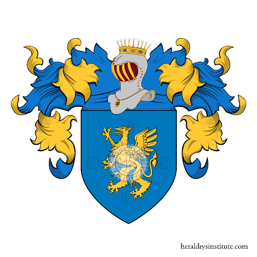 Coat of Arms of family Sebastiani (Corsica)
