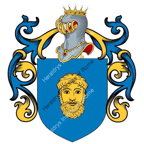 Coat of Arms of family Naro