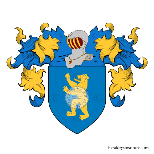 Coat of Arms of family Urso
