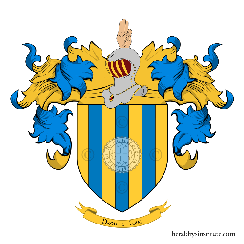 Coat of Arms of family Monforti
