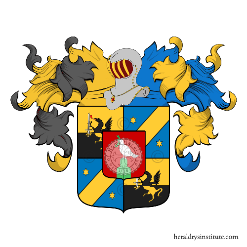 Coat of Arms of family Bettoni, Bettoni Cazzago (Brescia, ramo comitale)