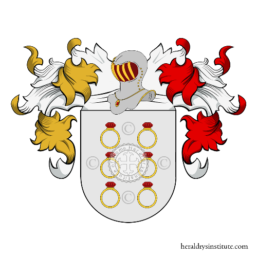 Coat of Arms of family Chiloeches