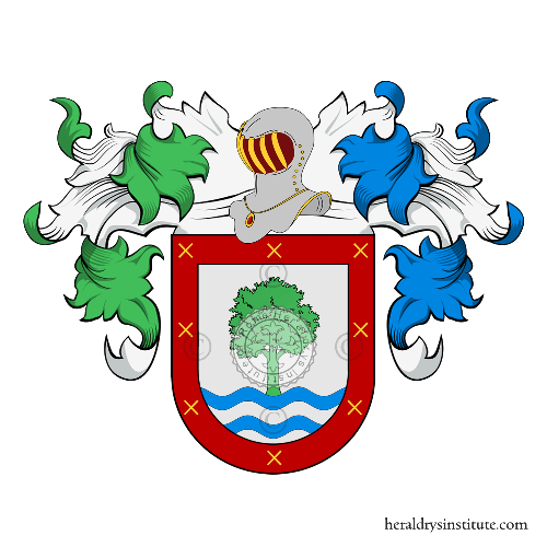Coat of Arms of family Iser