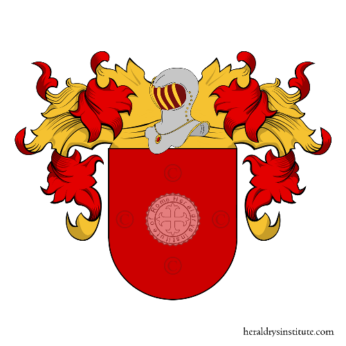 Coat of Arms of family Antel